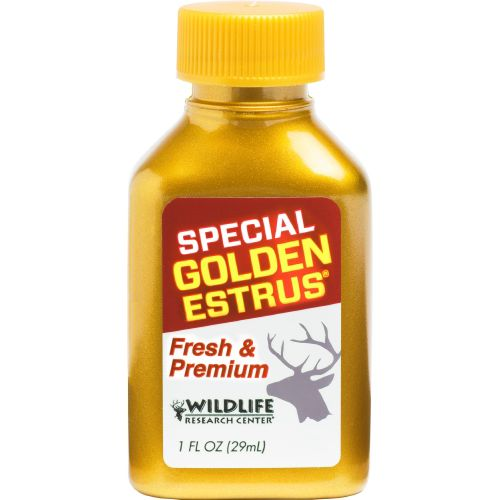 Display product reviews for Wildlife Research Center® Special Golden Estrus® 1 fl. oz. Attractant