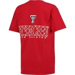 New World Graphics Women's Texas Tech University Comfort Color Initial Pattern T-shirt - view number 2
