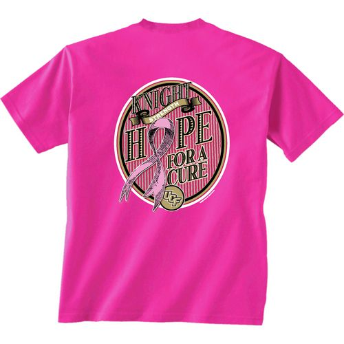 New World Graphics Women's University of Central Florida Breast Cancer Hope T-shirt