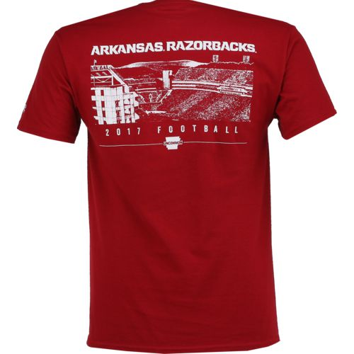 Champion Men's University of Arkansas 2017 Football Fan T-shirt