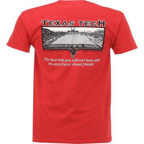 New World Graphics Men's Texas Tech University Friends Stadium T-shirt
