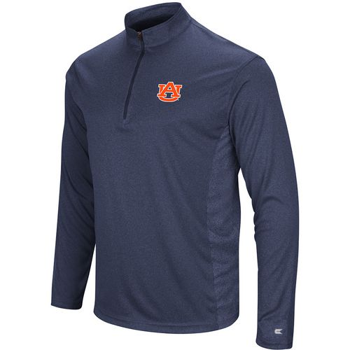 Colosseum Athletics Men's Auburn University Audible 1/4 Zip Windshirt