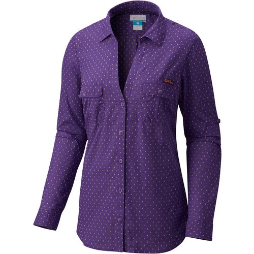 Columbia Sportswear Women's Louisiana State University Sun Drifter Button Down Shirt