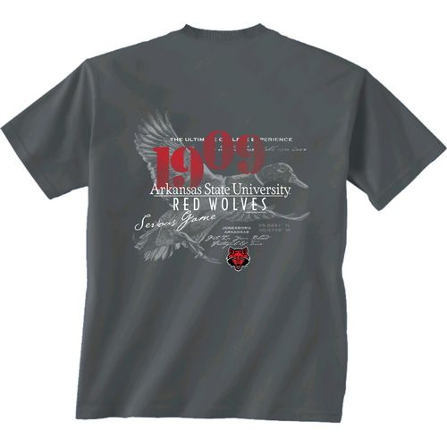 New World Graphics Men's Arkansas State University In Flight T-shirt