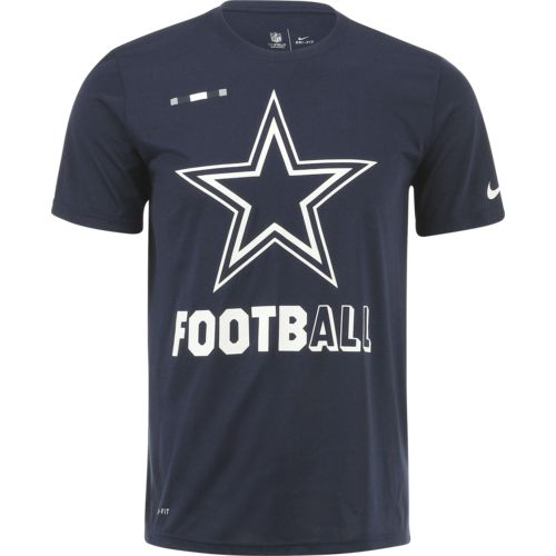 Display product reviews for Nike Men's Dallas Cowboys Football Legend T-shirt
