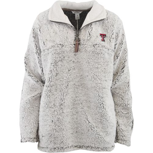 Three Squared Juniors' Texas Tech University Poodle Pullover Jacket