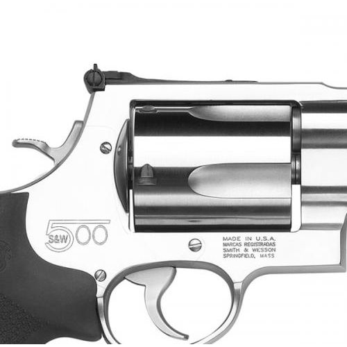 Smith & Wesson Model S&W500 Standard Stainless .500 S&W Magnum Revolver - view number 6