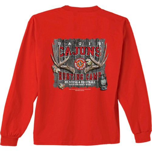 New World Graphics Men's University of Louisiana at Lafayette Hunt Long Sleeve T-shirt