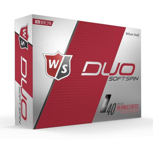 Wilson Staff Duo Soft Spin Golf Balls 12-Pack