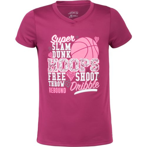 BCG Girls' Basketball Verbiage Training T-shirt