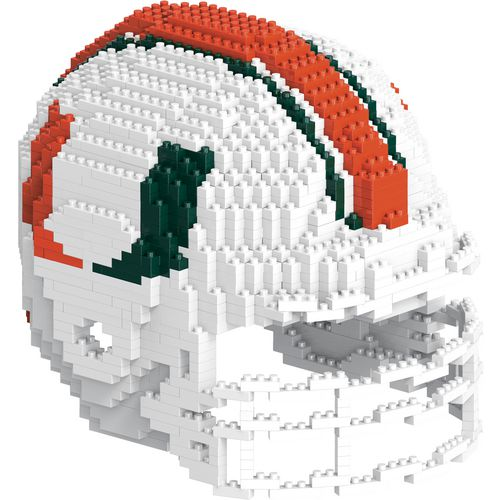 Forever Collectibles University of Miami 3-D BRXLZ Helmet Puzzle