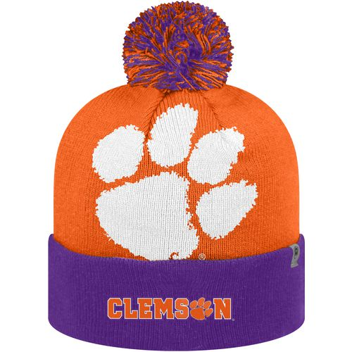 Top of the World Men's Clemson University Blaster 2-Tone Knit Cap