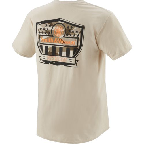 Smith & Wesson Men's Tech Revolution Stars & Stripes Shield T-shirt - view number 2