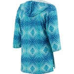 Porto Cruz Women's Pool Party 3/4-Length Sleeve Hooded Cover-Up Tunic - view number 2