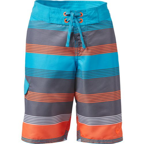 Nike Boys' 9 in Stripe Volley Boardshort