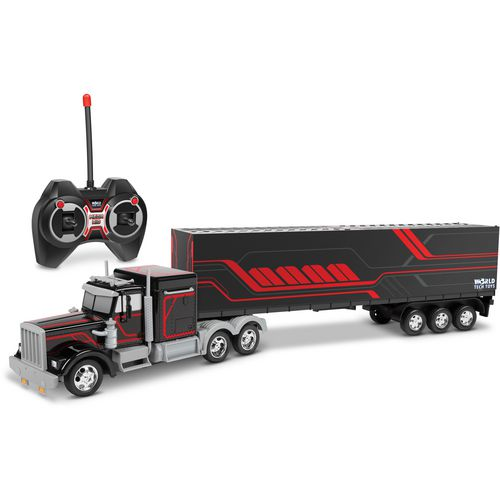 World Tech Toys Mega Rig Electric RC Semi Trailer Truck - view number 1