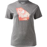 State Love Women's Georgia Watercolor Peach T-shirt - view number 2