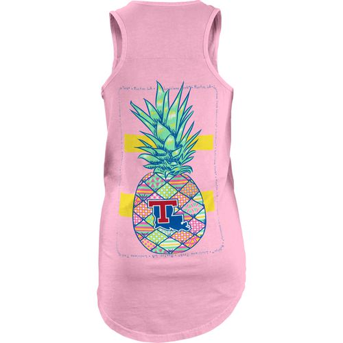 Three Squared Women's Louisiana Tech University School Hospitality Coastal Tank Top
