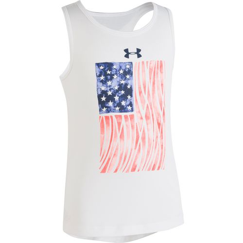 Under Armour Toddler Girls' Flagged Tank Top