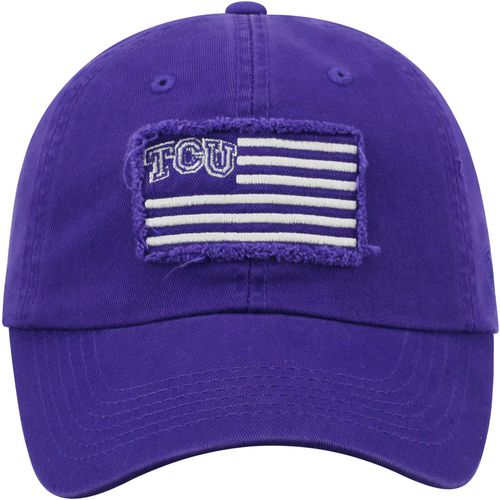 Top of the World Men's Texas Christian University Flag4  Adjustable Cap