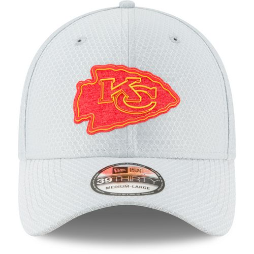 New Era Men's Kansas City Chiefs 39THIRTY Flex Fit Training Ball Cap