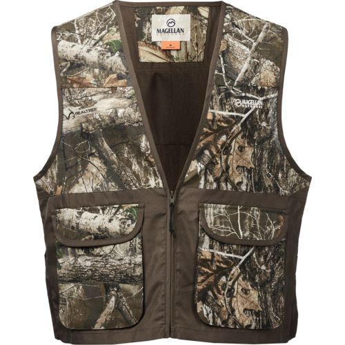 Magellan Outdoors Men's Piedmont Camo Game Vest – Camo Clothing, Adult Non-Insulted Camo at Academy Sports