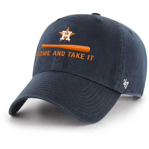 47 brand mens houston astros come and take it clean up cap