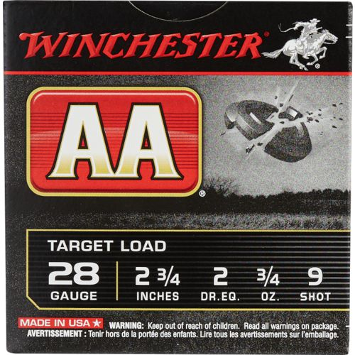 Display product reviews for Winchester AA HS Target Load 28 Gauge 9  Shotshells