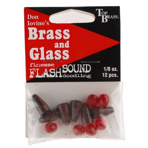 Top Brass Tackle Brass N' Glass Worm Weight