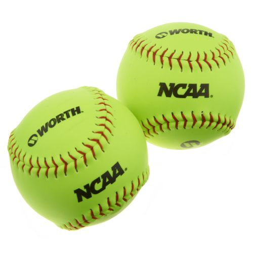 "Worth NCAA 11"" Outdoor Training Balls 2-Pack"