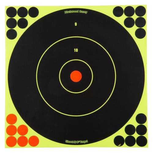"Display product reviews for Birchwood Casey® Shoot-N-C® 12"" Bull's-Eye Targets 5-Pack"