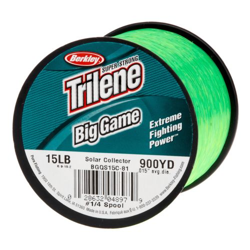 berkley trilene big game 1 4 lb fishing line academy