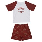 adidas Toddlers' Houston Astros 2-Piece Pajama Set