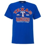 Majestic Adults' Texas Rangers Dial It Up 2 T-shirt