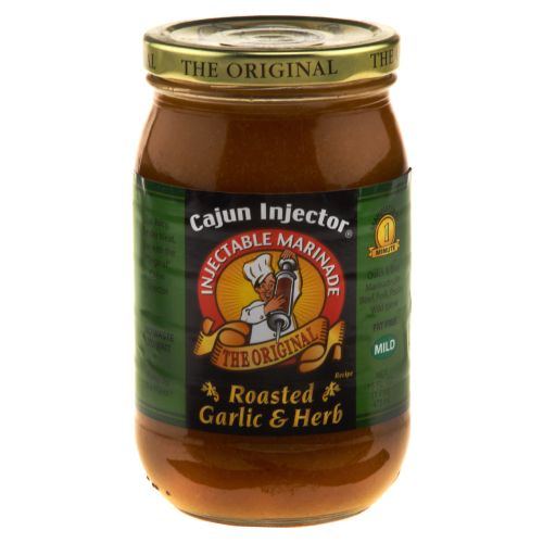Display product reviews for Cajun Injector 16 oz. Roasted Garlic and Herbs Marinade Refill