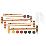Superior Croquet and Bocce Combo Set