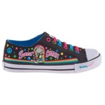 Bobby Jack Girls' Sweet + Smart Vulcanized Low-Top Athletic Lifestyle Shoes