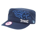 New Era Women's Tennessee Titans Goal 2 Go Military Style Cap