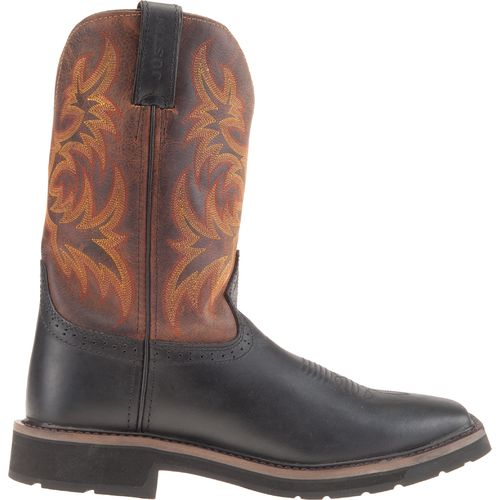 Image for Justin Men's Stampede Work Boots from Academy