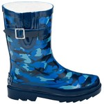 Stone Creek™ Boys' Camo Shark Rubber Boots