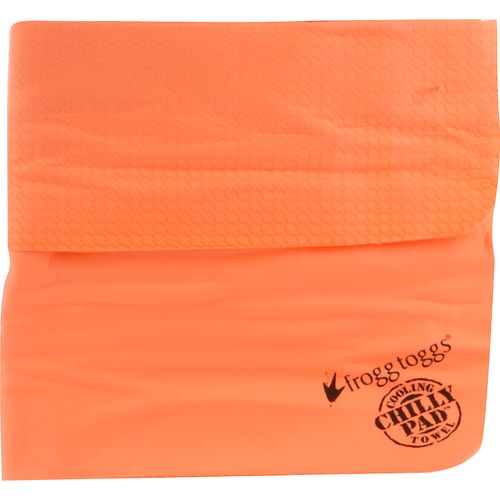 Display product reviews for frogg toggs® Chilly Pad™ Hi-Vis Orange Cooling Towel