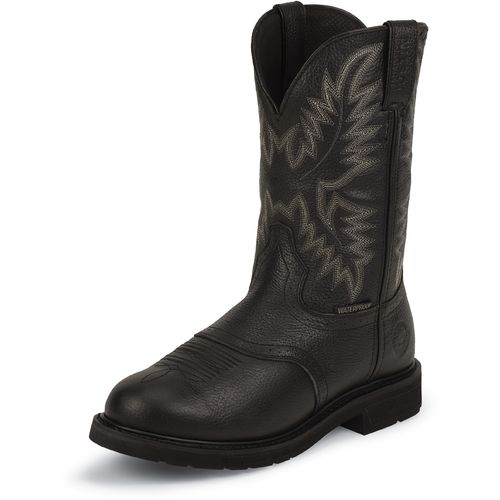 Image for Justin Men's Oiled Western Work Boots from Academy