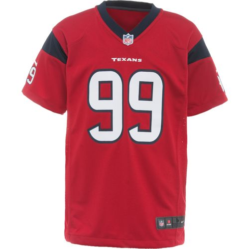 Display product reviews for Nike™ Boys' Houston Texans J.J. Watt #99 Replica Game Jersey