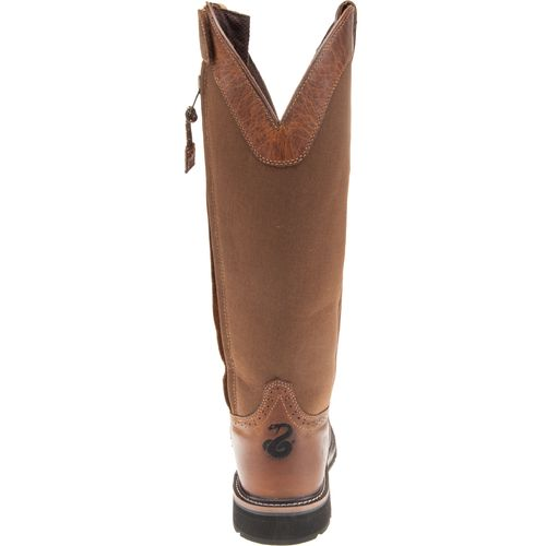 Justin Men's Stampede Wellington Steel Toe Snake Boots - view number 4