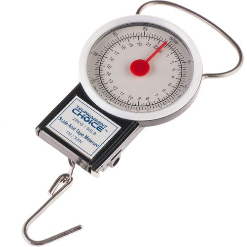 Display product reviews for Tournament Choice® 50 lb. Scale with Tape
