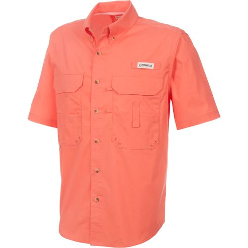 Academy magellan outdoors men 39 s lake fork short sleeve for Magellan fishing shirts