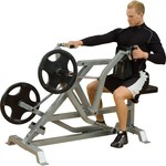 Body-Solid Leverage Seated Rower - view number 3