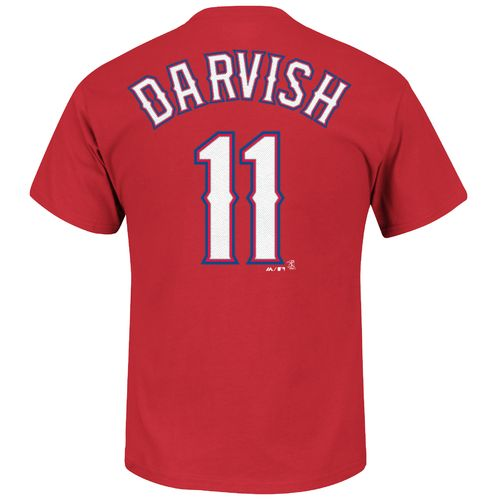 Majestic Men's Texas Rangers Yu Darvish #11 Official