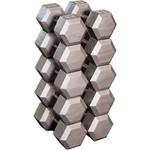 Body-Solid 55 - 75 lb. Hex Dumbbell Set - view number 1