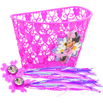 Disney Girls' Minnie Mouse Bow-tique Bicycle Accessory Pack